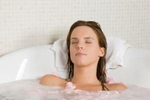 ванна при насморке