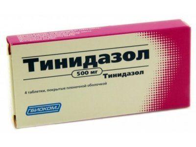 тинидазол заменитель метронидазола
