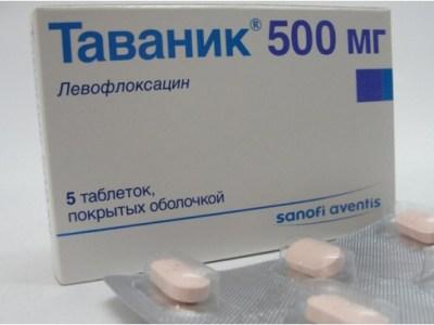 Как принимать Левофлоксацин при простатите: схема лечения