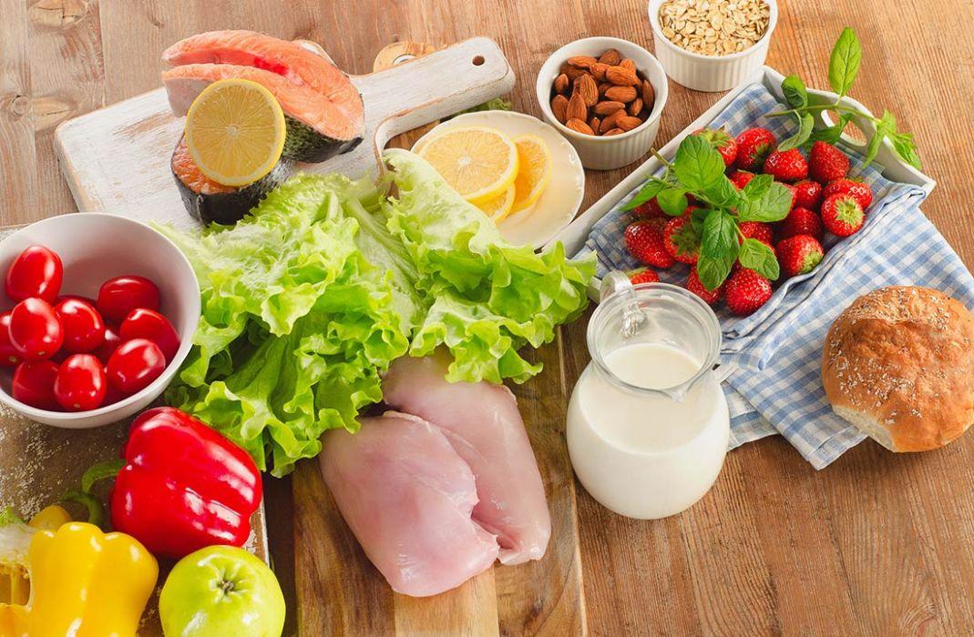 соблюдать диету на английском