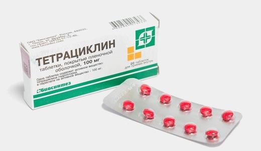 Тетрациклин от поноса в таблетках