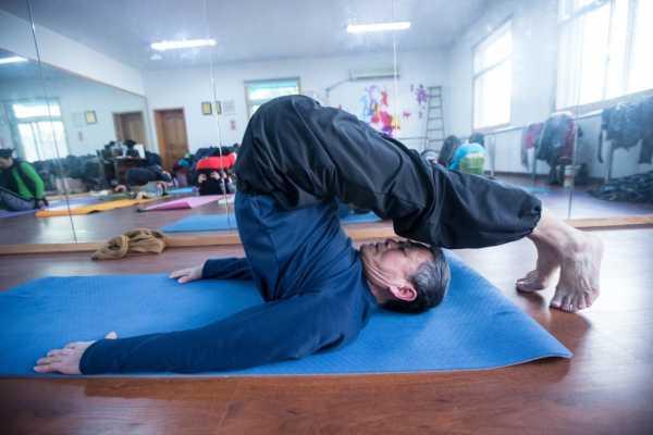 йога для увеличения кровообращения в органах малого таза