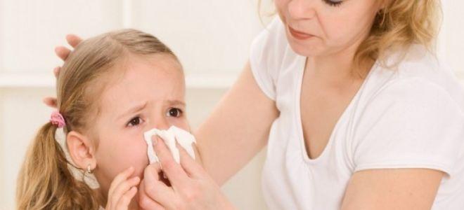 Причины появления крови в носу у детей