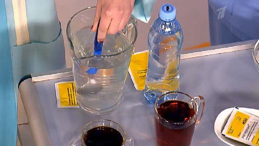 Свойства солевого раствора при диарее