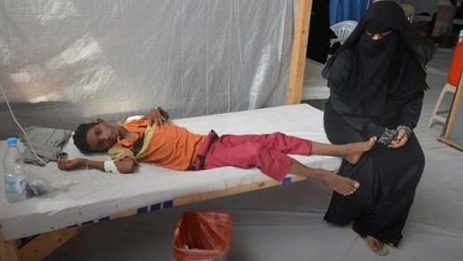 Человек заболевший холерой