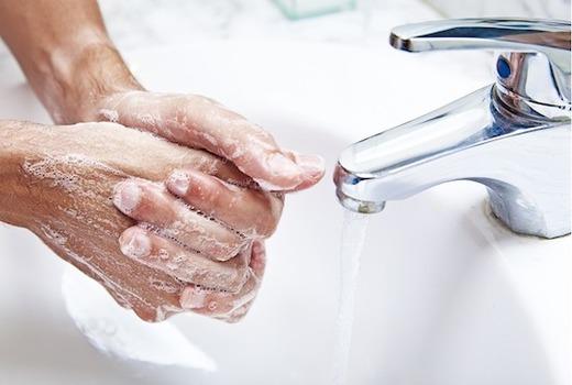 Намыленные руки