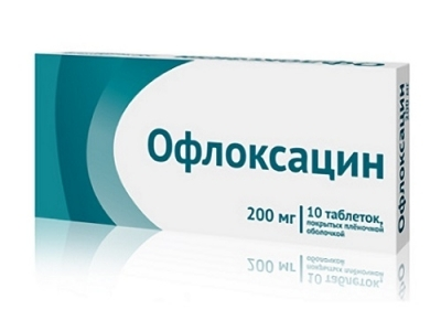офлоксацин от простатита