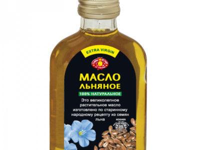 Масляный экстракт из семян льна