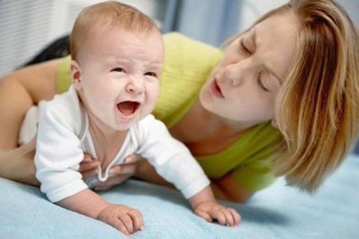 Ребенок при ротовирусе