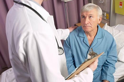 Диагностирование пожилого мужчины