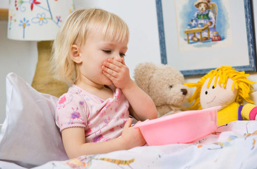 Лихорадка, рвота и понос при ротовирусе