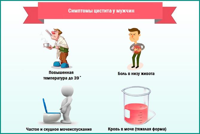 бактериальный цистит симптомы