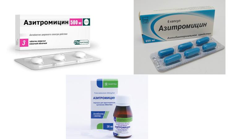 Азитромицин: инструкция, формы выпуска, отзывы