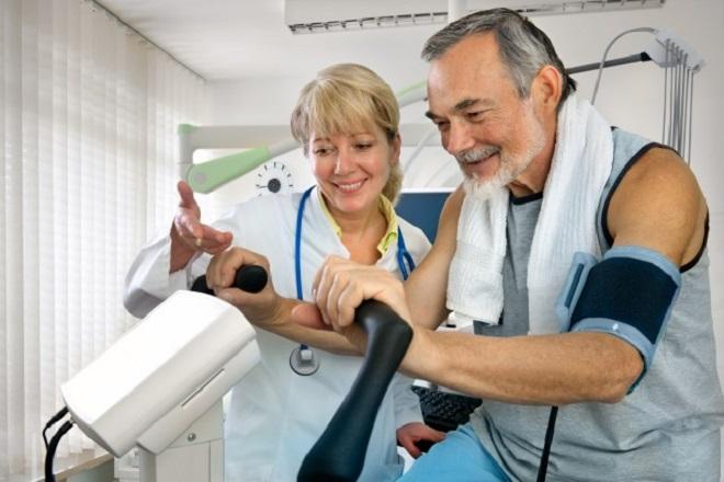 Реабилитационный кабинет пациентов с гипертонической болезнью