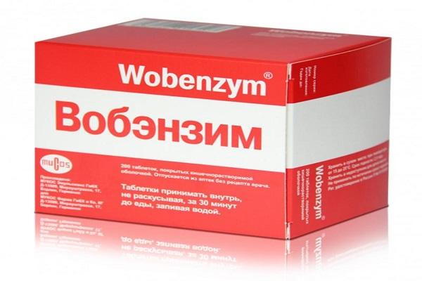 Вобэнзим для лечения простатита