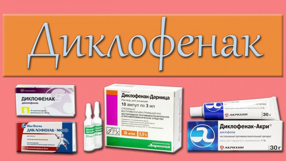 Жизненно важный противовоспалительный препарат ДИКЛОФЕНАК. - YouTube