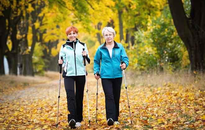 Скандинавская ходьба для здоровья